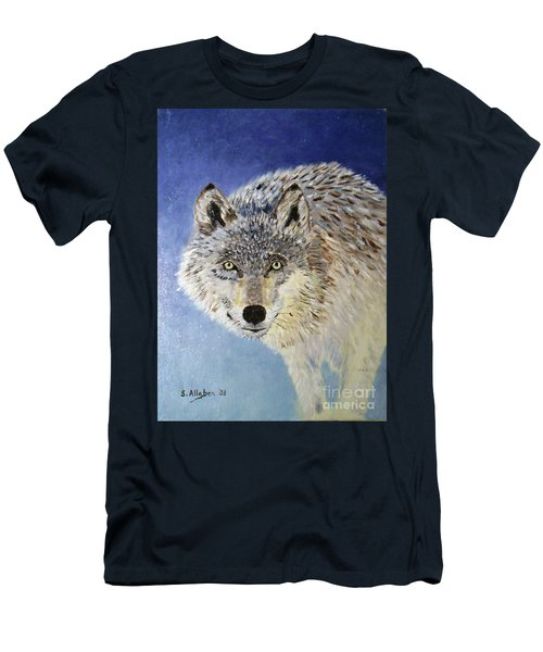 Wolf Study Men's T-Shirt (Athletic Fit)