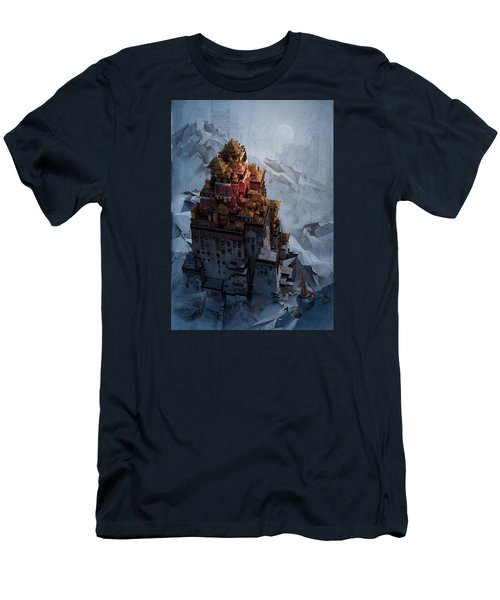 Wonders Holy Temple Men's T-Shirt (Slim Fit) by Te Hu