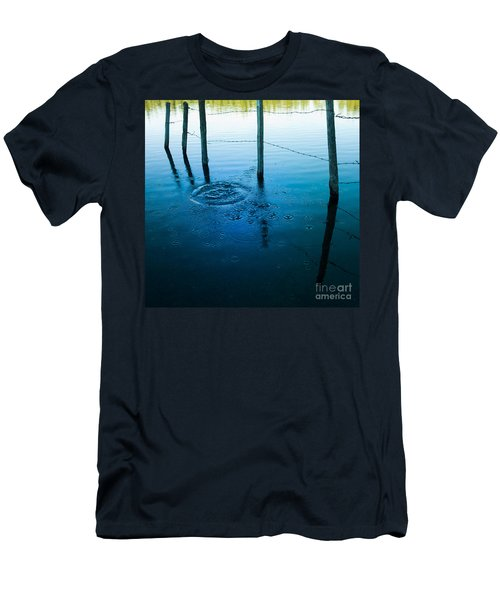 Wooden Post In A Lake Men's T-Shirt (Athletic Fit)