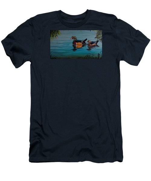 Woodies Men's T-Shirt (Athletic Fit)