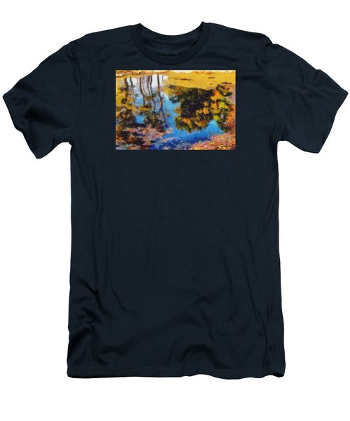 Woods In The Pond Men's T-Shirt (Athletic Fit)
