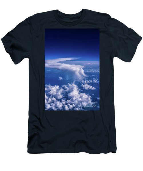 Writing In The Sky Men's T-Shirt (Athletic Fit)