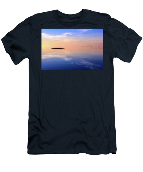 Men's T-Shirt (Slim Fit) featuring the photograph Xtra Blue by Thierry Bouriat