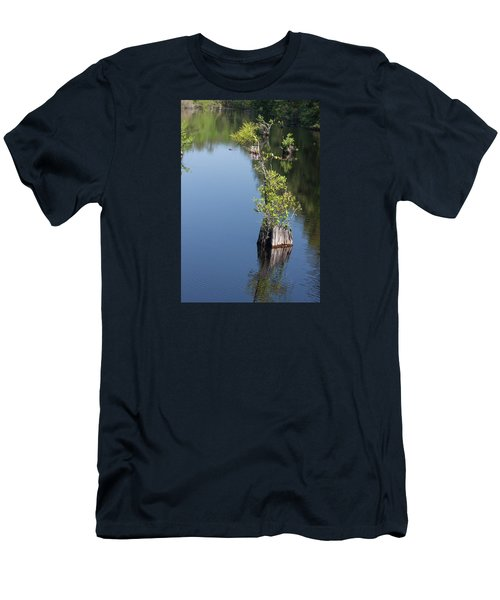 Yawkey Wildlife Refuge - Cat Island Men's T-Shirt (Slim Fit) by Suzanne Gaff