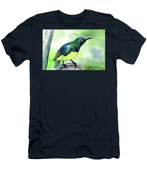 Yellow Bellied Sunbird Men's T-Shirt (Athletic Fit)