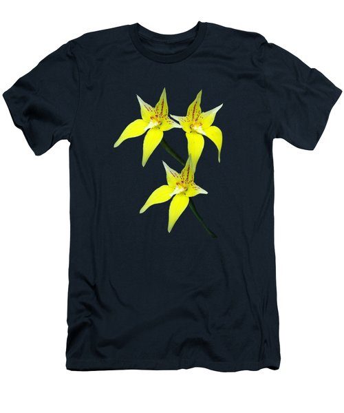 Yellow Cowslip Australian Orchard Men's T-Shirt (Athletic Fit)