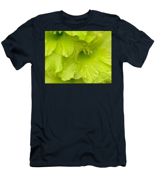 Yellow Gladiola Refreshed Men's T-Shirt (Athletic Fit)