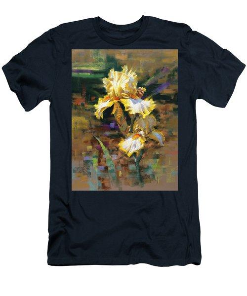 Yellow Iris II Men's T-Shirt (Athletic Fit)