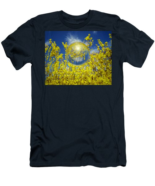 Men's T-Shirt (Slim Fit) featuring the photograph Yellow by Robert Geary
