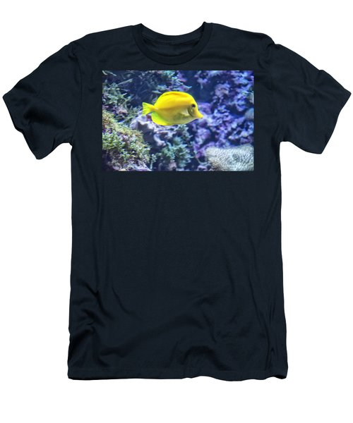 Yellow Tang Men's T-Shirt (Athletic Fit)