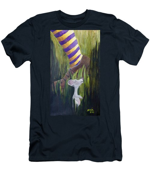 Yikes Mouse Men's T-Shirt (Athletic Fit)