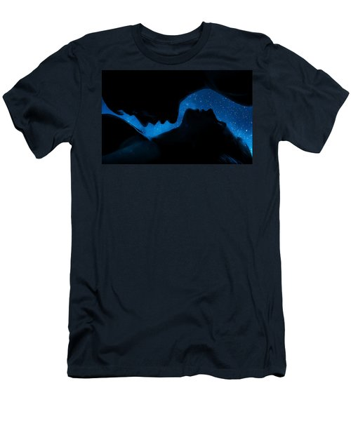 Ying-yang Men's T-Shirt (Slim Fit) by Sue M Swank