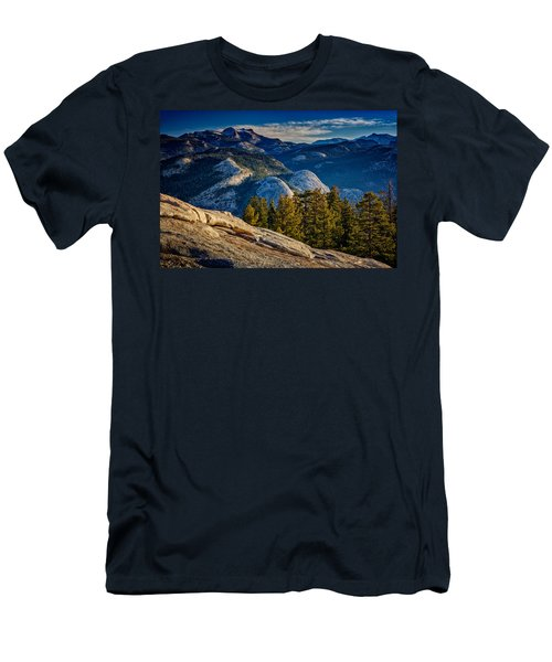 Yosemite Morning Men's T-Shirt (Slim Fit) by Rick Berk