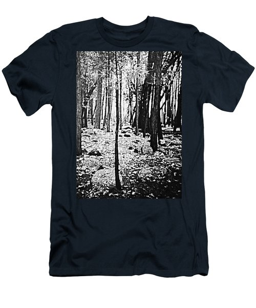 Yosemite National Park Men's T-Shirt (Slim Fit) by Debra Lynch