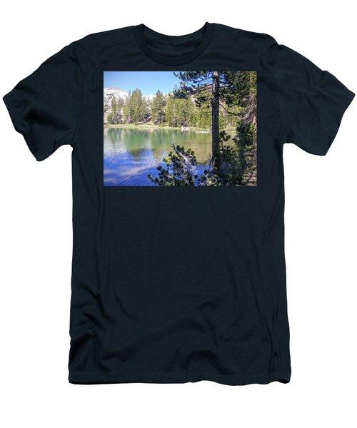 Yosemite Lake Men's T-Shirt (Athletic Fit)