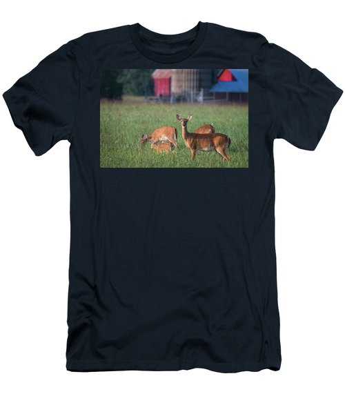 Men's T-Shirt (Athletic Fit) featuring the photograph You Lookin' At Me? by Cindy Lark Hartman
