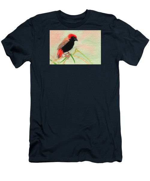 Zanzibar Red Bishop Men's T-Shirt (Athletic Fit)