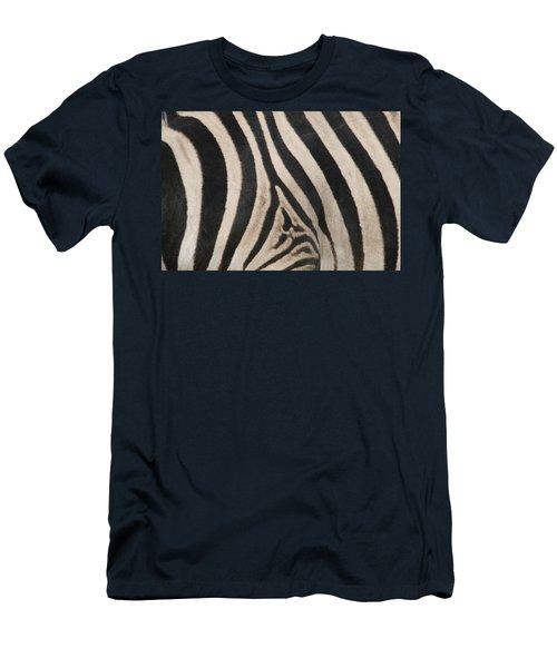 Zebra Stripes Men's T-Shirt (Athletic Fit)