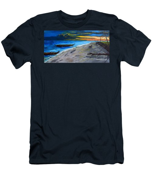 Zombie Island Men's T-Shirt (Athletic Fit)