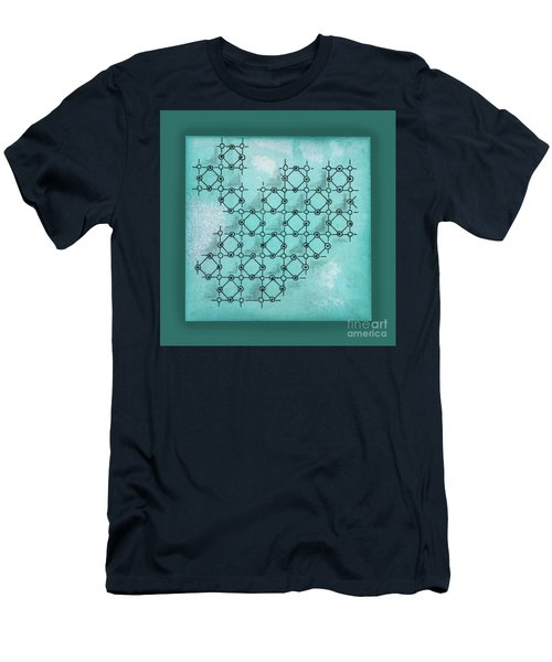 Abstract Biological Illustration Men's T-Shirt (Athletic Fit)