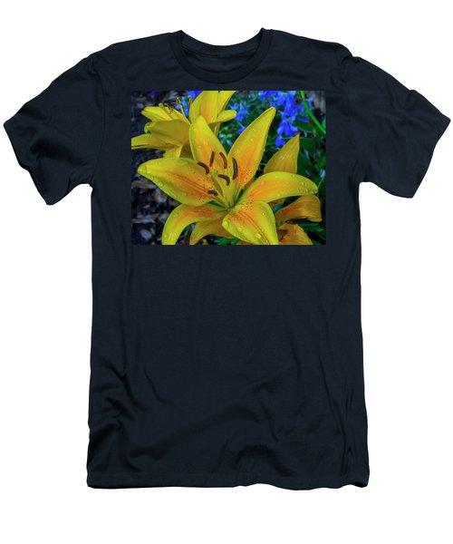 Asiatic Lily Men's T-Shirt (Athletic Fit)