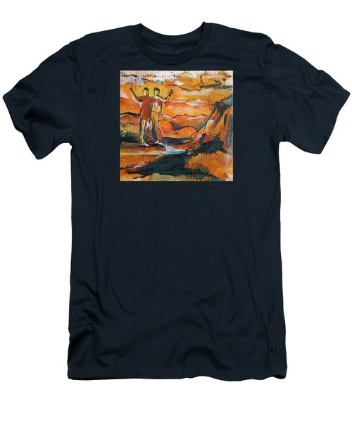 Feel The Warm Men's T-Shirt (Athletic Fit)