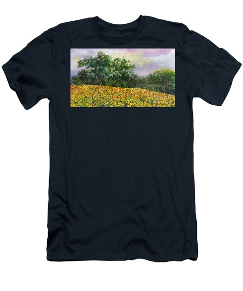 Golden Hillside Men's T-Shirt (Athletic Fit)