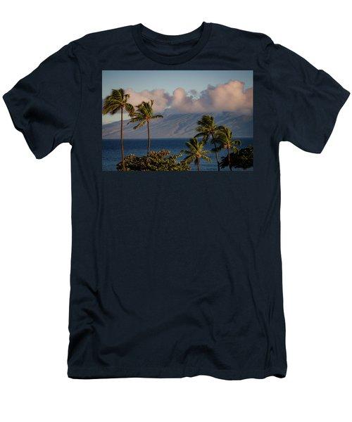 Maui Palms Men's T-Shirt (Athletic Fit)
