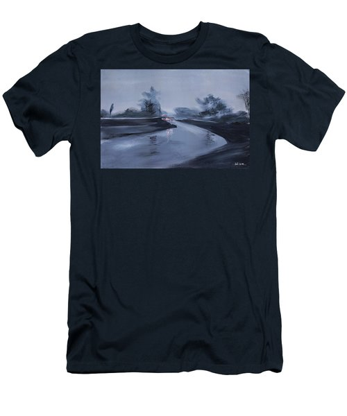 Rainy Day New Men's T-Shirt (Athletic Fit)