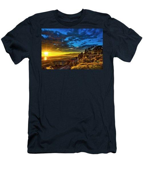 Santa Monica Bay Sunset - 10.1.18 # 1 Men's T-Shirt (Athletic Fit)