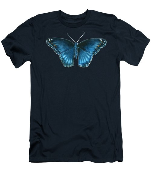 113 Brenton Blue Butterfly Men's T-Shirt (Athletic Fit)