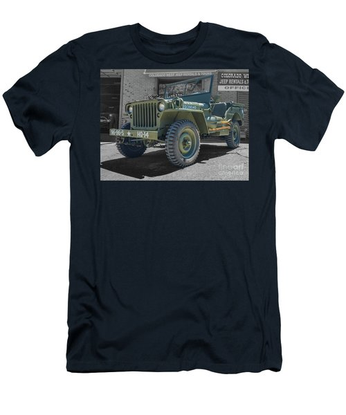 1942 Willys Gpw Men's T-Shirt (Athletic Fit)