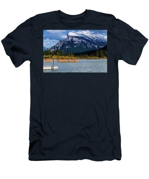 Vermillion Lakes, Banff National Park, Alberta, Canada Men's T-Shirt (Athletic Fit)