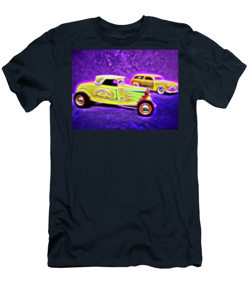 32 Roadster And 49 Woody Men's T-Shirt (Athletic Fit)