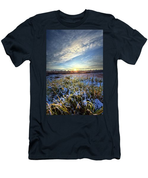 Men's T-Shirt (Athletic Fit) featuring the photograph A Dream Is A Wish That The Heart Makes by Phil Koch