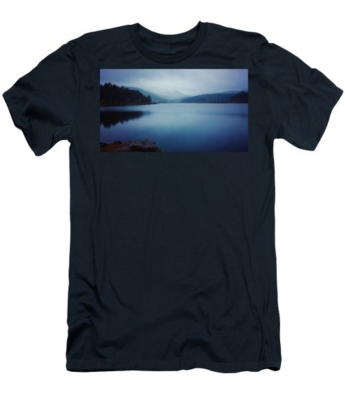 Men's T-Shirt (Athletic Fit) featuring the photograph A Washed Landscape by Dan Miller