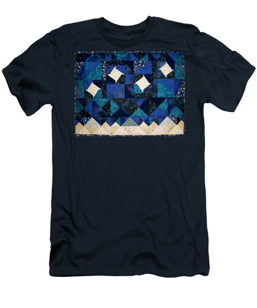 A Winter Snowscape Men's T-Shirt (Athletic Fit)