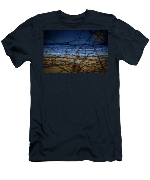 Abstract Landscape Men's T-Shirt (Athletic Fit)