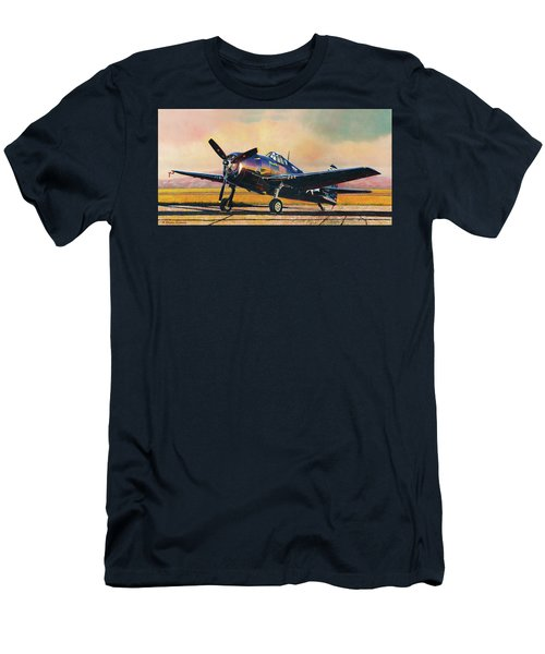 Airshow Hellcat Men's T-Shirt (Athletic Fit)