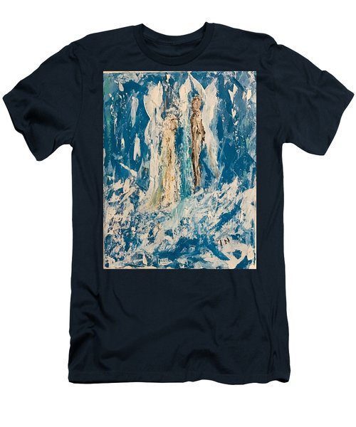 Angelic Angels Men's T-Shirt (Athletic Fit)