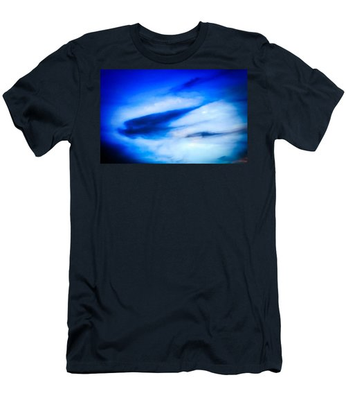 Men's T-Shirt (Athletic Fit) featuring the photograph Arizona Angel In Blue by Judy Kennedy
