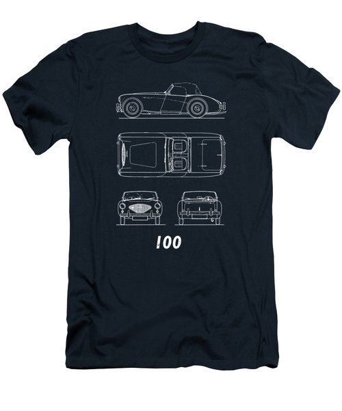 The Austin-healey 100 Men's T-Shirt (Athletic Fit)