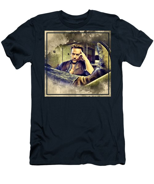 Flanery And His Cowboy Boot Men's T-Shirt (Athletic Fit)