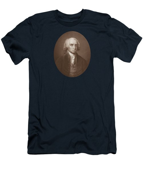 James Madison Engraved Portrait Men's T-Shirt (Athletic Fit)