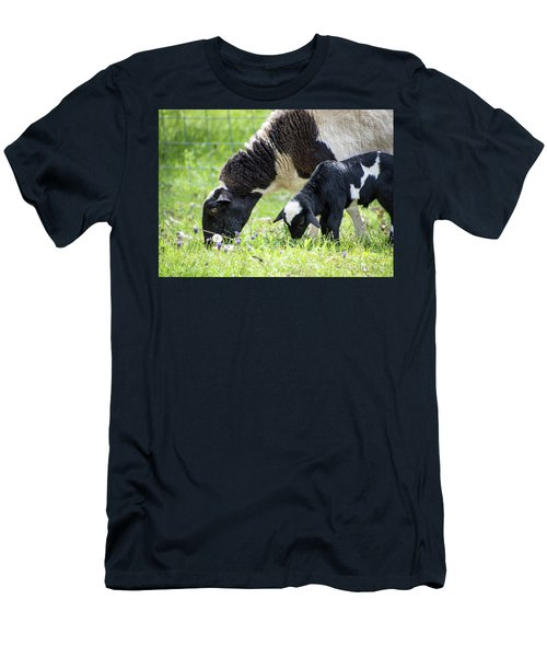 Baba And Pepe Grazing Men's T-Shirt (Athletic Fit)