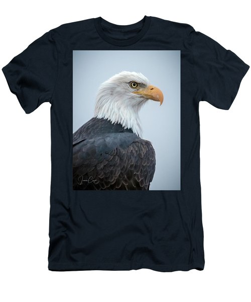 Bald Eagle Profile Men's T-Shirt (Athletic Fit)