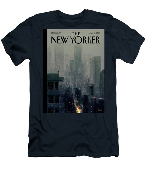 Big City Men's T-Shirt (Athletic Fit)