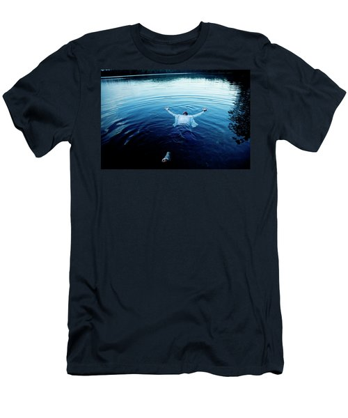 Blue Lake Men's T-Shirt (Athletic Fit)
