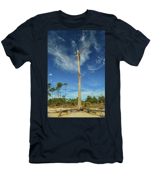 Blue Skies And Broken Branches Men's T-Shirt (Athletic Fit)