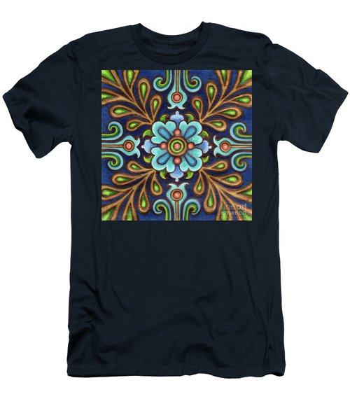 Botanical Mandala 9 Men's T-Shirt (Athletic Fit)